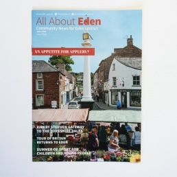 All About Eden, Bucket and Spade Marketing Portfolio