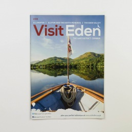 Visit Eden, Bucket and Spade Marketing Portfolio