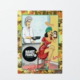Hanky Panky Pancakes, Bucket and Spade Marketing