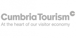 cumbria tourism logo, Bucket and Spade Marketing