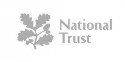 National Trust Logo, Bucket and Spade Marketing