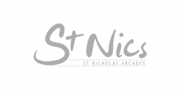 St Nics logo, Bucket and Spade marketing