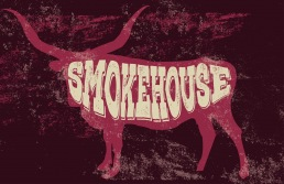 hickories smokehouse, bucket and spade, illustration